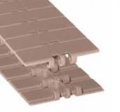 Rexnord LF 820-K450 [LF820-4.5IN] sz.lánc, egyenesen futó, sz.: 114,3mm, barna LF acetál (kód: L0820603791, cikkszám: 10177688)