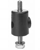 S025664561 - Rexnord (Marbett) forgatható fej [SWIVEL HEAD 256 D12MM PA] korláttartóhoz, 12 mm-es csaphoz, cikksz.: 10091100