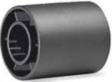 S042163888 - Rexnord (Marbett) visszfordító görgő, furat: 20,5 mm, 42,5xID20,5x50mm, fekete PE, cikksz.: 10372506