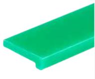 S024363701 - Rexnord (Marbett) L csúszóprofil, UHMWPE, zöld, 20 mm széles, cikksz.: 10375852