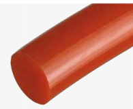 15 mm piros körszíj, sima