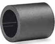 S012665406 - Rexnord (Marbett) visszafutó görgő-szeparátor, átm. 27 mm, hossz: 32 mm, fekete PE, tengely: 16 mm, cikksz.: 10372034