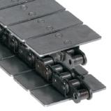 Rexnord S1864 S-7.5IN talpaslánc, szénacél, lapka szélessége: 190,5mm (kód: 814036225, cikkszám: 10144790)