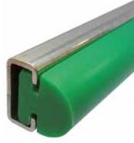 S024763911 - Rexnord (Marbett) oldalvezető profil rozsdamentes acél és polietilén anyagokból, 3 méteres szálakban, cikksz.: 10375884