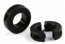 S0612614732 - Rexnord (Marbett) rögzítőgyűrű [SPLIT COLLAR RND 612 D30MM 1KW PA], osztott, furat: 30 mm, reteszhoronnyal , cikksz.: 10129492