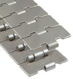 Rexnord 10S42M rozsdamentes szállítólánc, egyenesen futó, Max-line, sz.:114,3 mm, o.:38,1 mm (kód: 762.13.42, cikkszám: 10375167)