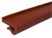 S025163631 - Rexnord (Marbett) láncvezető J-profil (82,5 mm lánchoz), 20x3 mm, zöld, cikksz.: 10375888