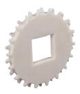 Rexnord CS 1255 10-30 [KU1200-10T_30MM_1KW_PA] fogaskerék, forgácsolt PA, Z=10, furat: 30mm körteng. (kód: 894.59.37, cikkszám: 10331347)