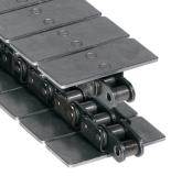 Rexnord S1864 S-6IN egyenesen futó talpaslánc, lapka szélessége: 152,4mm, szénacél (kód: 814036223, cikkszám: 10144789)