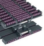 Rexnord HDFM 1200 LBP [XLA_HDFM LBP-12IN], Magnetflex szállítólánc, sz.: 305mm, LBP görgőcskékkel (kód: 752.88.20, cikkszám: 10139141)