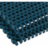 Rexnord XLG1255-340MM_RBP-RBP kanyarodó modulheveder, sz.: 340mm, zöldeskék acetál, Positrack (kód: 867.40.13, cikkszám: 10658859)