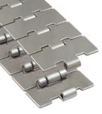 Rexnord 60 S 60 M szállítólánc, egyenesen f., rozsdam. acél, Max-line, sz.: 152,4 mm, o.: 38,1 mm (kód: 762.53.60, cikkszám: 10375178)
