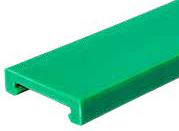 S0000670381 - Rexnord (Marbett) S0885 C-profil [PROFILE 885 PE GR 3.05M (LP)], zöld UHMWPE, 3 méteres szálakban, cikksz.: 10375683