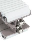 Rexnord HP 1873 TABSS-K325 GS3J megfogólánc, sz.: 82,5mm, szürke EPDM 55 ShoreA fogórésszel (kód: L1873628723, cikkszám: 10373942)
