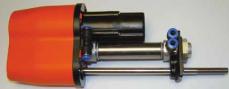 S0837640783 - Rexnord (Marbett) SGA 837 WITH PNEUMATIC CYL oldalkorlát állító berendezés pneumatikus dugattyúval, cikksz.: 10372848