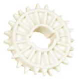 Rexnord CS 1000 18-40x40 [N1000-18T_40MM_S_PA] fogaskerék, Z=18, 40x40 mm négyszögtengelyhez (kód: 895.08.21, cikkszám: 10148155)