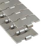 Rexnord 60 S 42 M szállítólánc, egyenesen f., rozsdam. acél, Max-line, sz.: 114,3mm (kód: 762.53.42, cikkszám: 10139388)