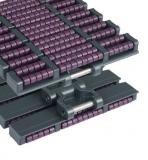 Rexnord HDFM 1000 LBP, Magnetflex, o.: 38,1mm, sz.: 254mm, poliacetál, LBP görgőcskékkel (kód: 752.88.19, cikkszám: 10139140)