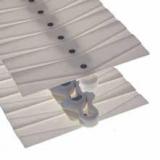 Rexnord WLF 1713 TAB K Multiflex szállítólánc, fehér POM lapkával, sz.: 253 mm (kód: L1713WLFTABK, cikkszám: 10373995)