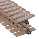 Rexnord HFP 1873 TAB-K1000 típusú lánc, sz.: 254 mm, gumírozott lapkákkal (kód: L1873648152, cikkszám: 10373916)