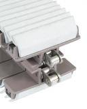 Rexnord HP 1873 TAB-K450 GS3J megfogólánc, szürke EPDM 55 ShoreA fogórésszel (kód: L1873631773, cikkszám: 10373932)