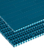 Rexnord FT 1000 XLG [XLG1000FT-85MM] egyenesen f. modulhev., sz.: 85 mm, XLG acetál, zöldeskék (kód: 817.30.10, cikkszám: 817.30.10)
