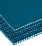 Rexnord FT 1000 XLG [XLG1000FT-425MM] egyenesen f. modulheveder, sz.: 425 mm, acetál, zöldeskék (kód: 817.30.14, cikkszám: 10376923)