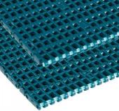 Rexnord FGDP 1000 XLG 510 modulh., sz.: 510mm, o.:25,4mm, acetál, zöld, csap: PP, dupla Positrack (kód: 874.43.15, cikkszám: 10148006)