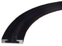 Rexnord KTU 013 kanyarív, 1 pályás, 45°, 100 mm széles, szettben (alsó+felső) (kód: 787.03.08, cikkszám: 787.03.08)