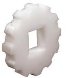 Rexnord CS 2010 8-40x40 [KU2010-8T_40MM_S_UH] fogaskerék, fogszám: 8, furat: 40x40 mm, UHMWFE (kód: 897.20.04, cikkszám: 10332105)