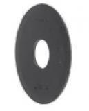 S0555695211 - Rexnord (Marbett) S0555 [FLANGE 555 OD70.5XID20.2X2MM PE BK] vezetőtárcsa, furat: 20,5 mm, fekete PE, S=2, cikksz.: 10106491