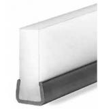 S027466801 - Rexnord (Marbett) 274 láncvezető profil, 11,2 mm széles, rozsdamentes acél sínnel, 3m szálakban, cikksz.: 10375808