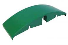 S0153608692N1 - Rexnord (Marbett) íves csúszóelem (wear shoe) visszafelé futó lánchoz, tengely átm. 18 mm, 244x84 mm, cikksz.: 10082567