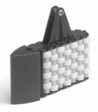 S0570603542 - Rexnord (Marbett) görgős szétválasztó modul, 40x8 profilhoz, keret, görgők anyaga: POM, cikksz.: 10372382