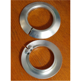 Állítható terelőtárcsa, D80mm görgőre, D külső = 130mm, horganyzott acél kivitel (kód: LOR_I_tt_D80)