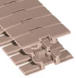 Rexnord DRY-PT879TAB-3.25IN műanyag szállítólánc, kanyarodó (TAB), lapka sz.: 82,5mm, lapka vast.: 4,8mm, zöld Dry-PT (cikkszám: 10482853)