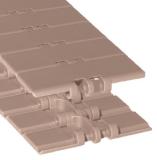 Rexnord DRY-PT831-3.25IN műanyag szállítólánc, egyenesen futó, lapka sz.: 82,5mm, lapka vast.: 4,8mm, zöld Dry-PT (cikkszám: 10482838)