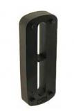 S0725688762 - Rexnord (Marbett) távtartó, 42x15x109,5 mm, erősített PA, fekete, cikksz.: 10301040