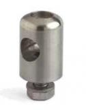 S019253091 - Rexnord (Marbett) forgatható fej korláttartókhoz, 16mm rúdhoz, auszt. rozsdam. acél, cikksz.: 10372208