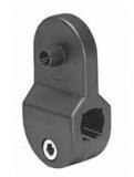 S0341C6912500 - Rexnord (Marbett) macskaszem-tartó, d=12 mm, B=10 mm, rozsdamentes rögzítő csavarokkal, cikksz.: 10372277