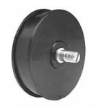 S0075672662N - Rexnord (Marbett) feszítő, csévélő kerék, jobb, anyaga: PA, csévélés hossza: 600 mm, cikksz.: 10139101