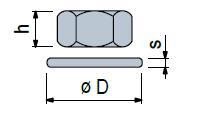 R0000630212 - Rexnord (Marbett) csavaranya alátéttel, M16, rozsdamentes, géptalpakhoz ajánlott, cikksz.: 10030104