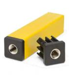 R0224673492 - Rexnord (Marbett) belső menetes betét négyszögletű profilhoz, erősített PA profil:30x30x2 mm, furat:M10, cikksz.: 10365083