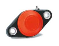 603763 - Rexnord (Marbett) SUCFL 203 C [SUCFL203C_17_PA_CL_O] ovális peremcsapágy, zárt kupakkal, 17mm, furat: 90mm, cikksz.: 10346238