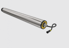 Interroll RollerDrive EC5000, IP54, D50x1,5 mm rozsdamentes acél palást, M8 belső menetes tengely, RL=394 mm (kód: LOR_I_EC5000_RL394)