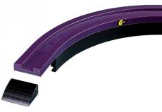 Rexnord CA_1_M31_90°R500B100L125 Magnetflex Combi-A C1 kanyarív, 90°, R=500, 125 mm bevezető szakasszal (kód: 704.05.01)