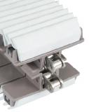Rexnord HP1873TAB GRIP SS-3.25IN S3JA megfogólánc, sz.: 82,5mm, szürke EPDM 45 ShoreA fogórésszel (kód: L1873628733, cikkszám: 10303011)