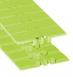 Rexnord DRY-PT820-3.25IN műanyag szállítólánc, egyenesen futó, lapka sz.: 82,5mm, zöld DryPT (cikkszám: 10479417)