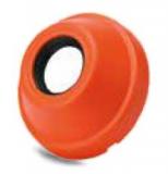 600892 - Rexnord (Marbett) fedőkupak [COVER-MB 208 40 OP SEAL], nyitott, 40mm csapágyhoz, spec. méret, narancss., cikksz.: 10296851