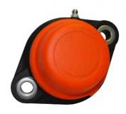 629663 - Rexnord (Marbett) UCFLN 203 C peremcsapágy, ovális, zárt, narancssárga fedéllel, csapágy átm.: 17mm, cikksz.: 10346472